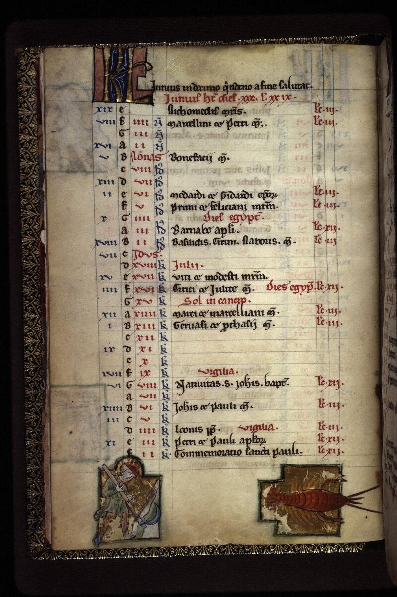 Lyon, Bibl. mun., ms. 0539, f. 004v - vue 1