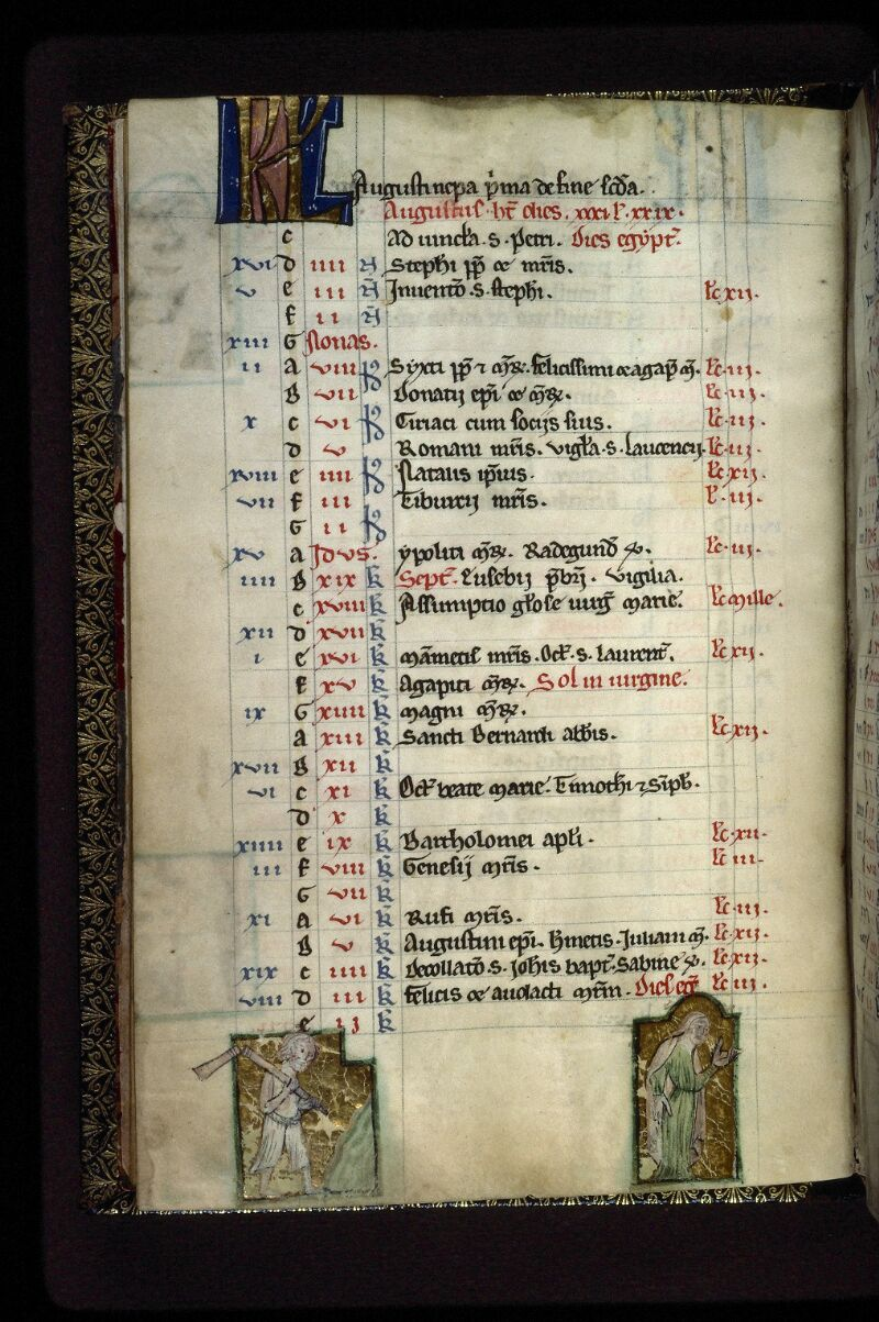 Lyon, Bibl. mun., ms. 0539, f. 005v - vue 1