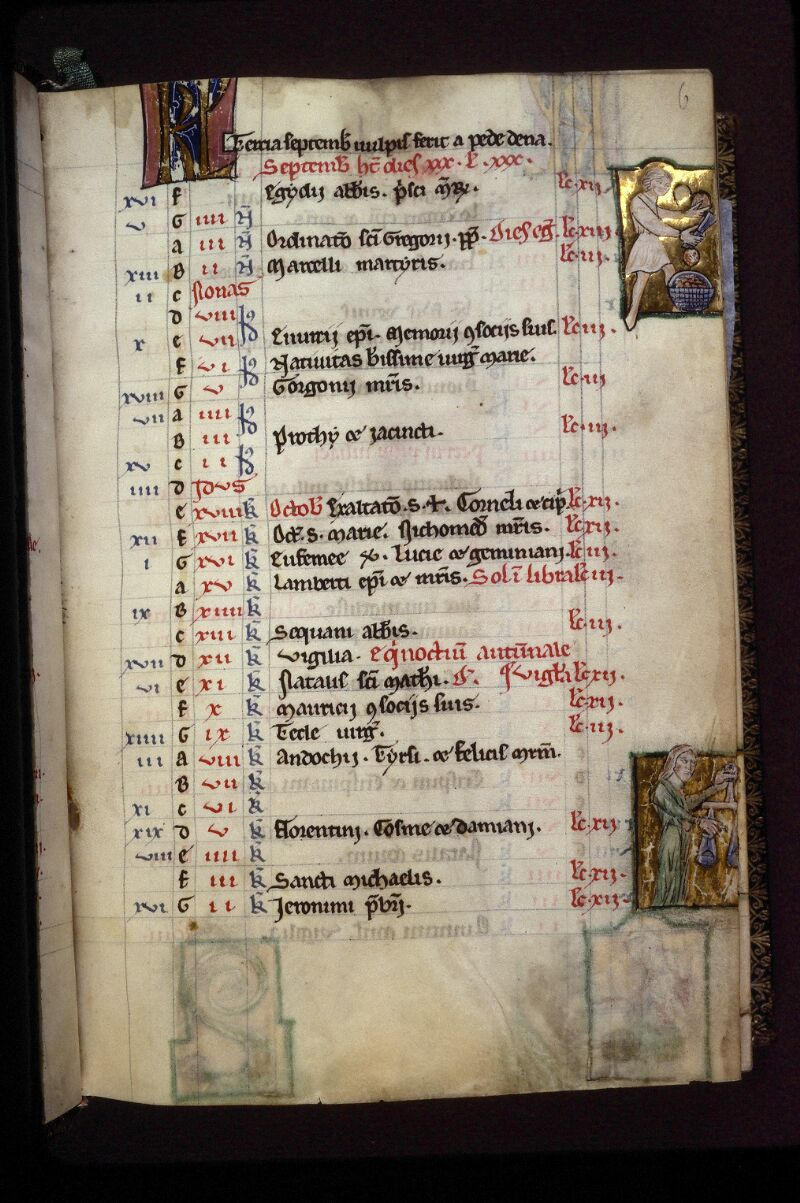 Lyon, Bibl. mun., ms. 0539, f. 006 - vue 1