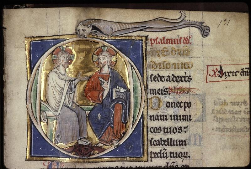 Lyon, Bibl. mun., ms. 0539, f. 131 - vue 1