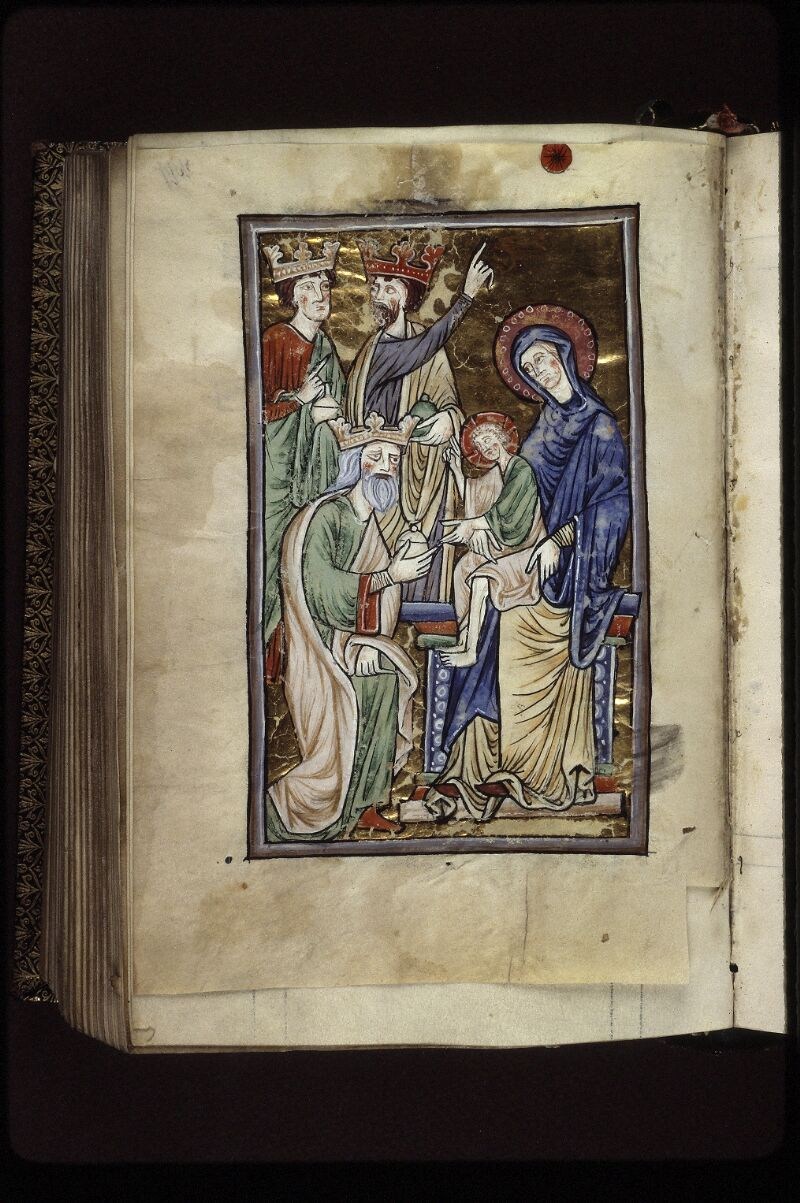 Lyon, Bibl. mun., ms. 0539, f. 199v - vue 1