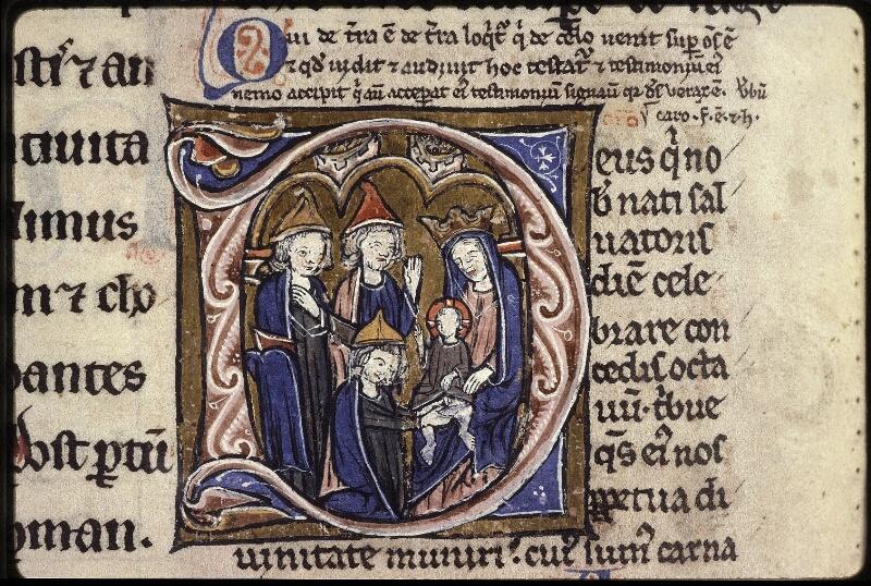 Lyon, Bibl. mun., ms. 0539, f. 232v - vue 3