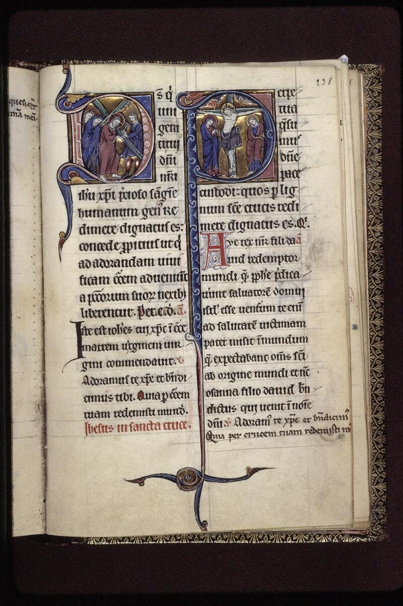 Lyon, Bibl. mun., ms. 0539, f. 238 - vue 1