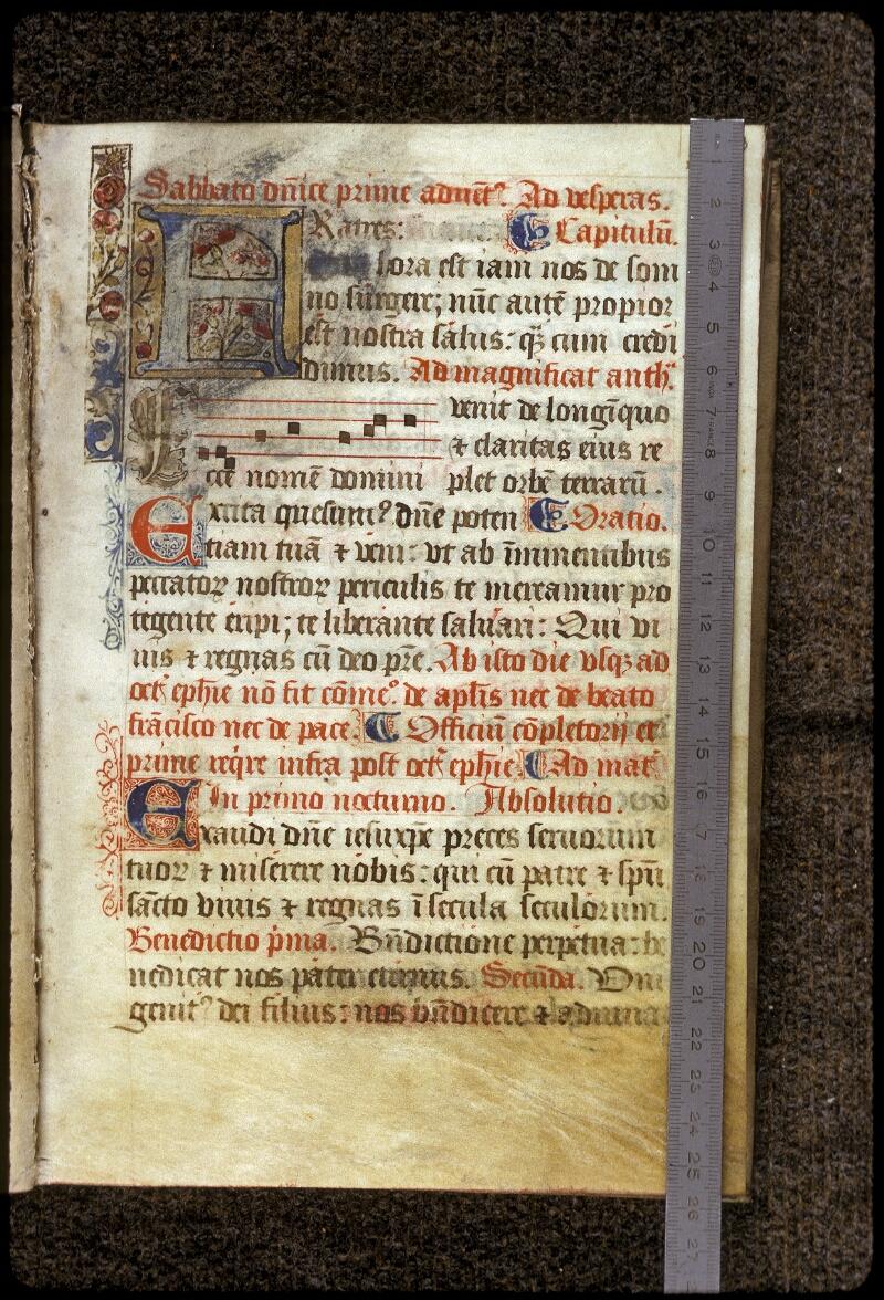 Lyon, Bibl. mun., ms. 0541, f. 013 - vue 1