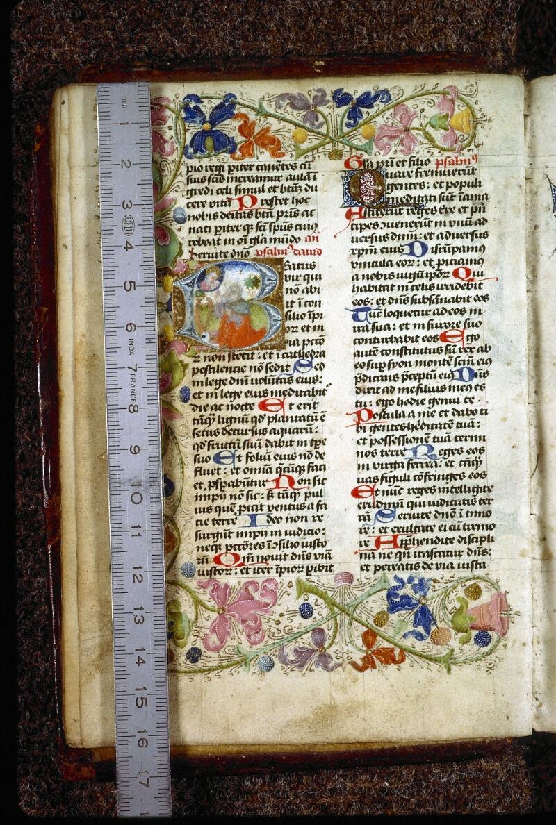 Lyon, Bibl. mun., ms. 0551, f. 008v - vue 1