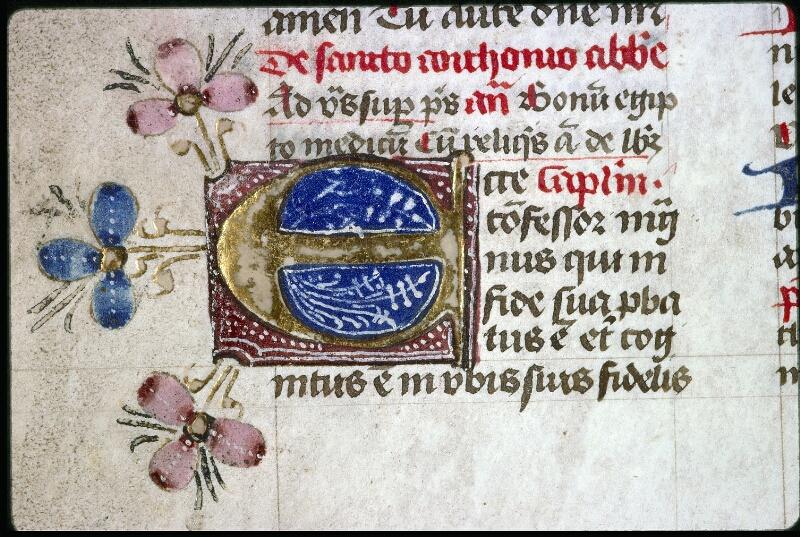 Lyon, Bibl. mun., ms. 0551, f. 320v - vue 2