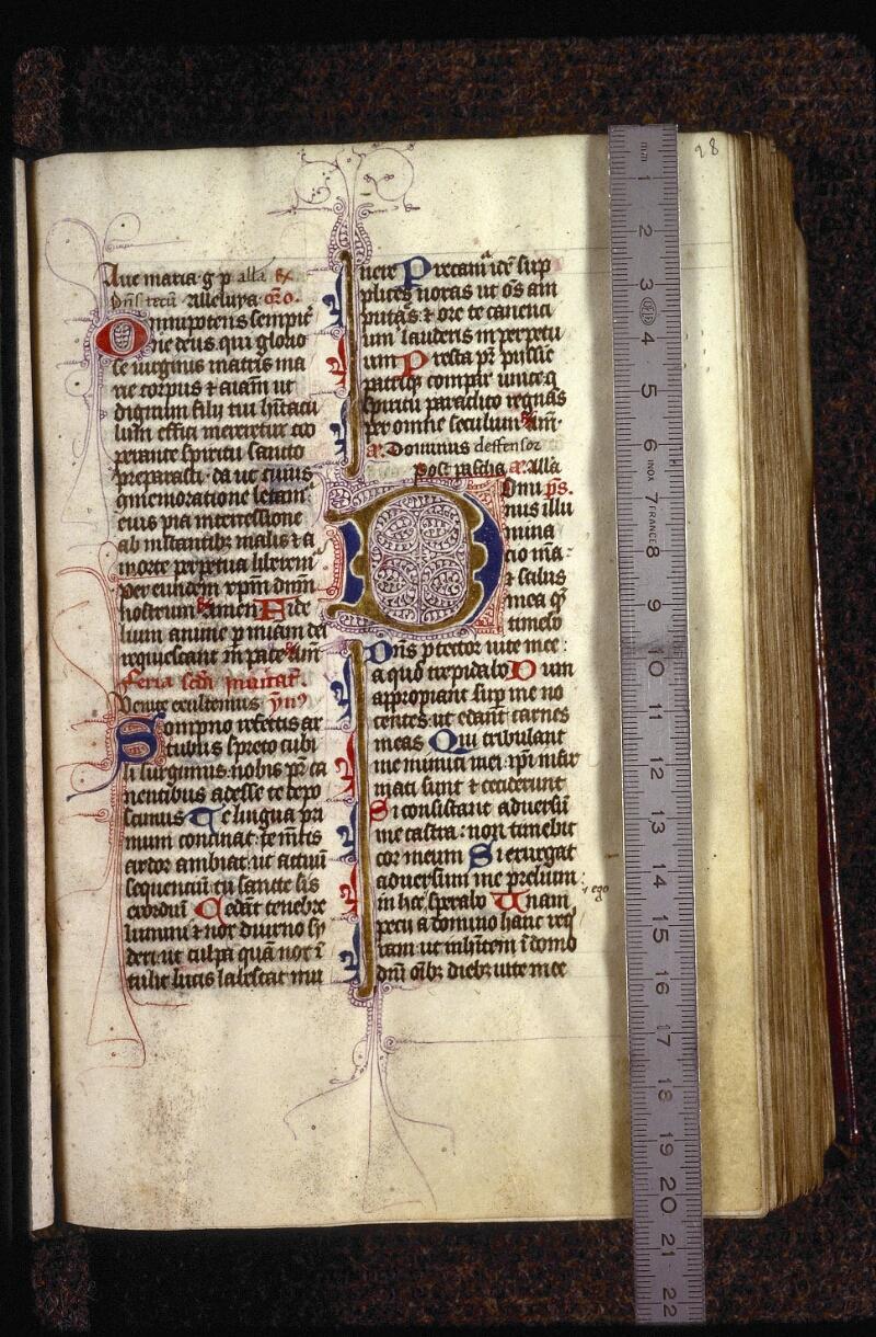 Lyon, Bibl. mun., ms. 0552, f. 028 - vue 1