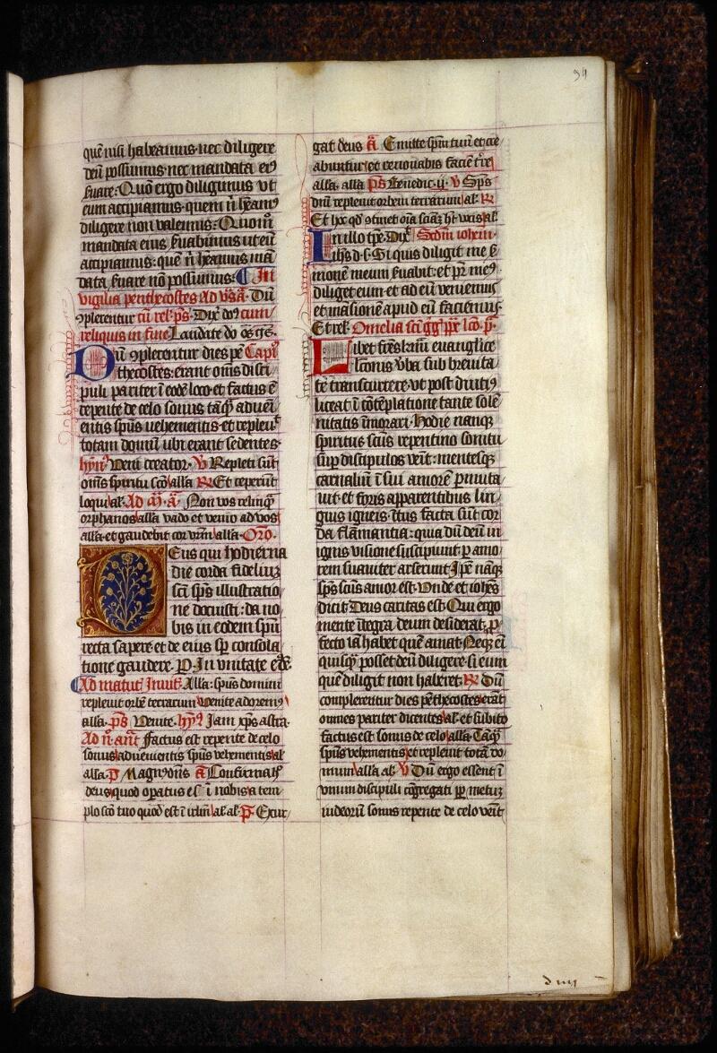 Lyon, Bibl. mun., ms. 0553, f. 034 - vue 1