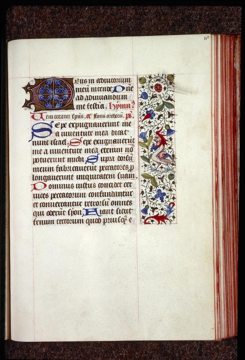 Lyon, Bibl. mun., ms. 0554, f. 041 - vue 1