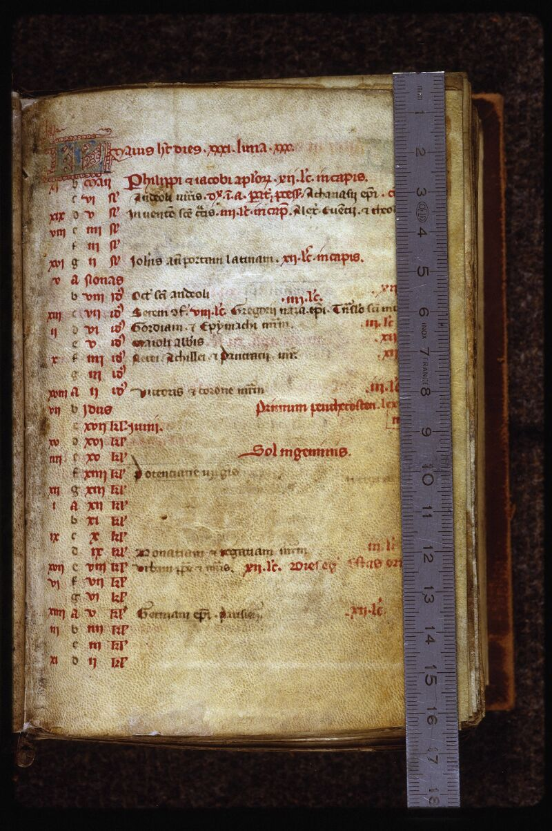 Lyon, Bibl. mun., ms. 0555, f. 003 - vue 1