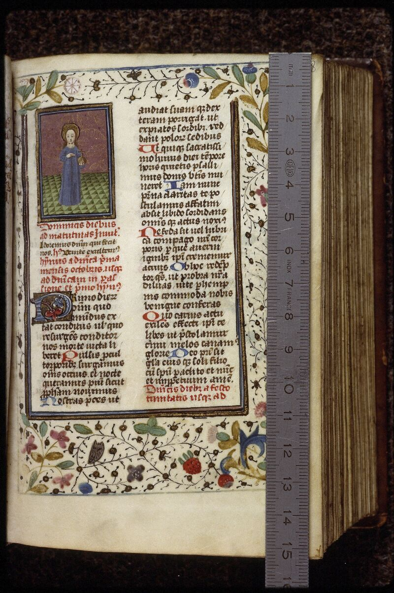 Lyon, Bibl. mun., ms. 0559, f. 008 - vue 1