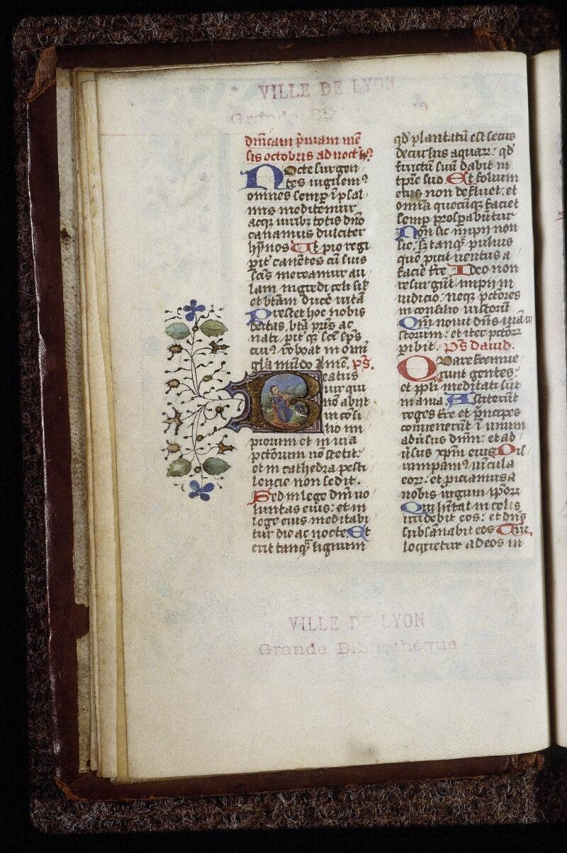 Lyon, Bibl. mun., ms. 0559, f. 008v - vue 1