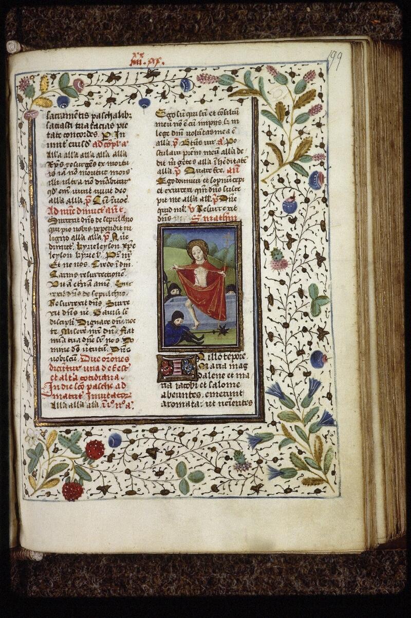 Lyon, Bibl. mun., ms. 0559, f. 199 - vue 1