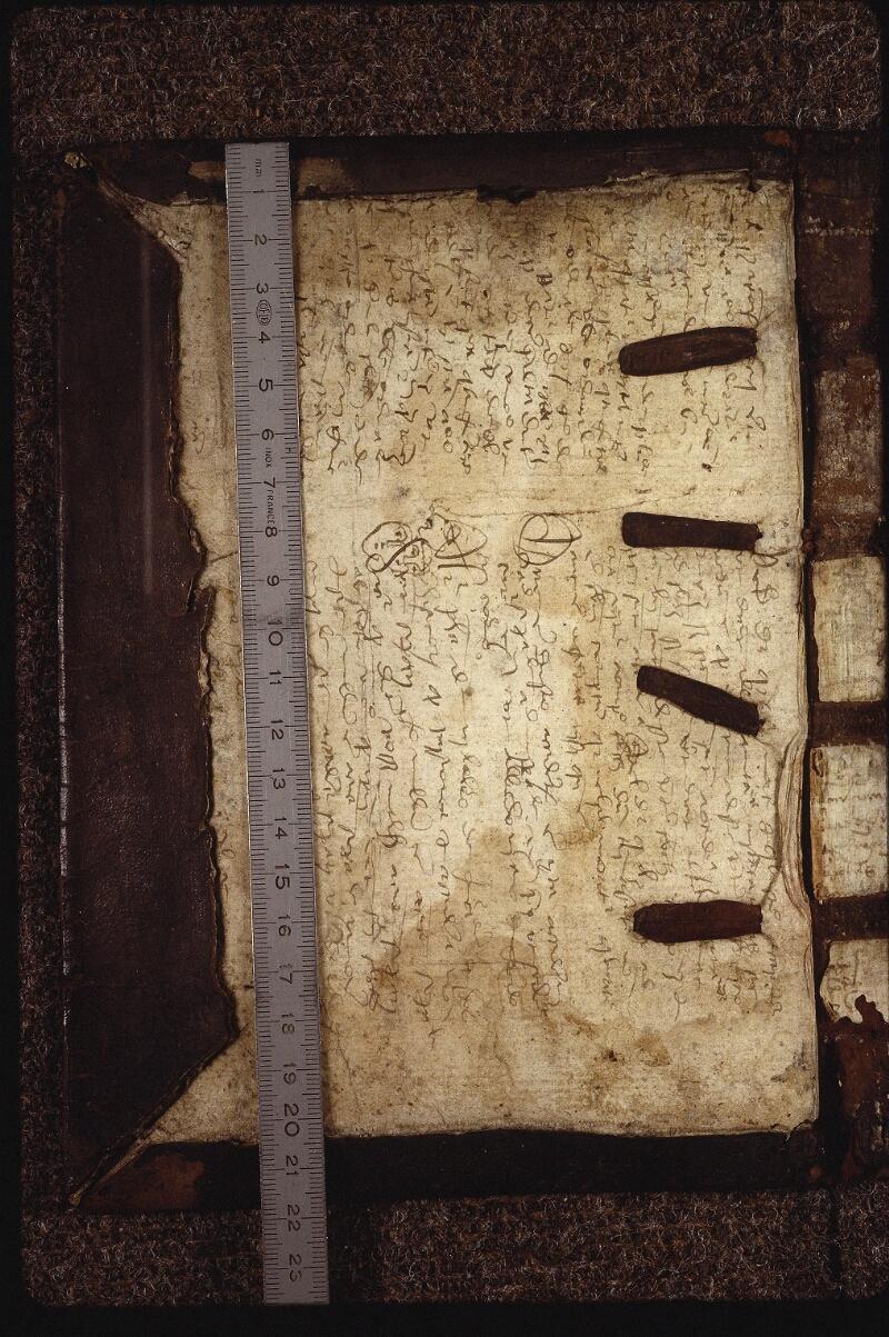 Lyon, Bibl. mun., ms. 0563, contre-plat sup. - vue 1