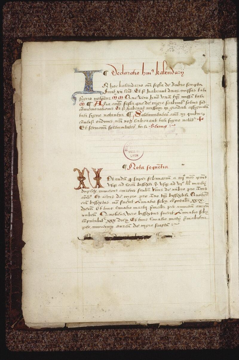 Lyon, Bibl. mun., ms. 0563, f. 001v