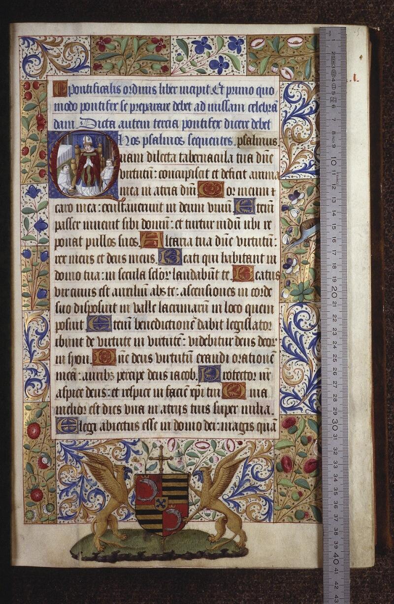 Lyon, Bibl. mun., ms. 0565, f. 005 - vue 1
