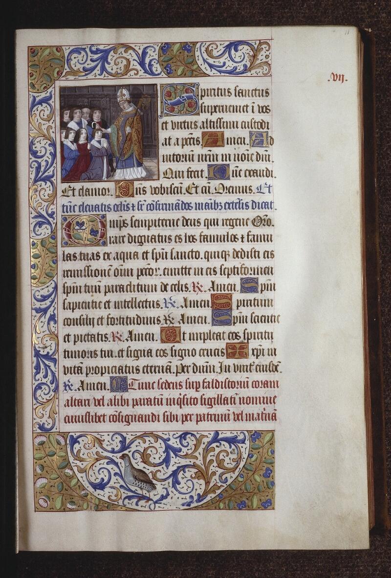 Lyon, Bibl. mun., ms. 0565, f. 011 - vue 1