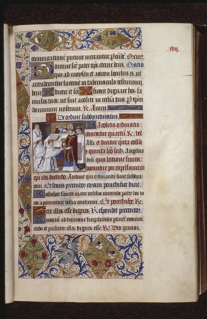 Lyon, Bibl. mun., ms. 0565, f. 021 - vue 1