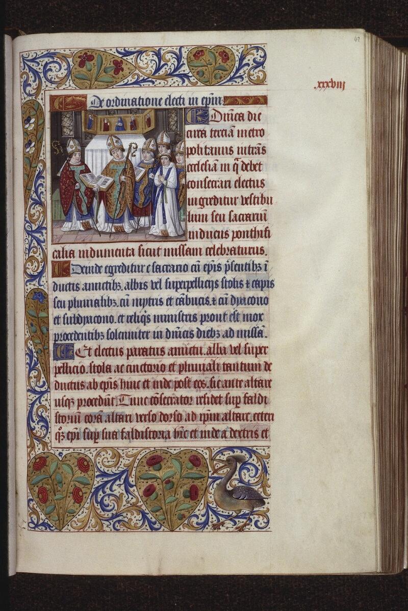 Lyon, Bibl. mun., ms. 0565, f. 042 - vue 1