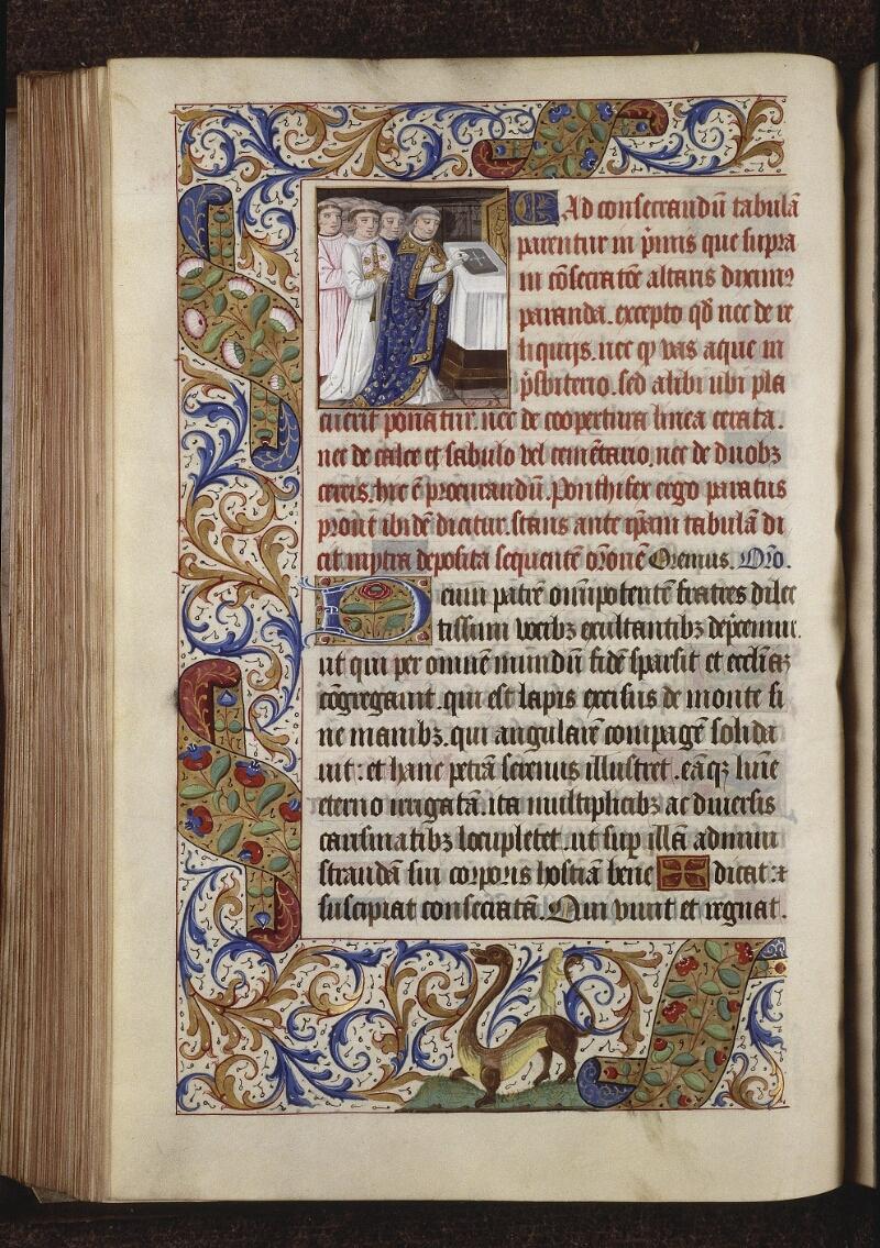 Lyon, Bibl. mun., ms. 0565, f. 141v - vue 1