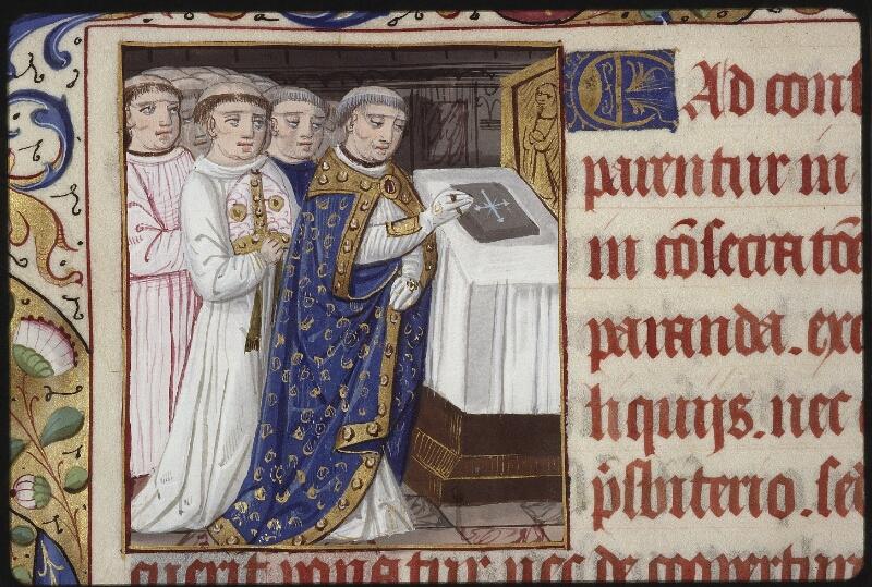 Lyon, Bibl. mun., ms. 0565, f. 141v - vue 2