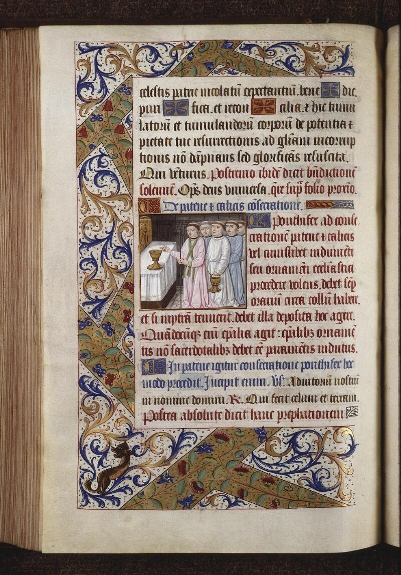 Lyon, Bibl. mun., ms. 0565, f. 160v - vue 1