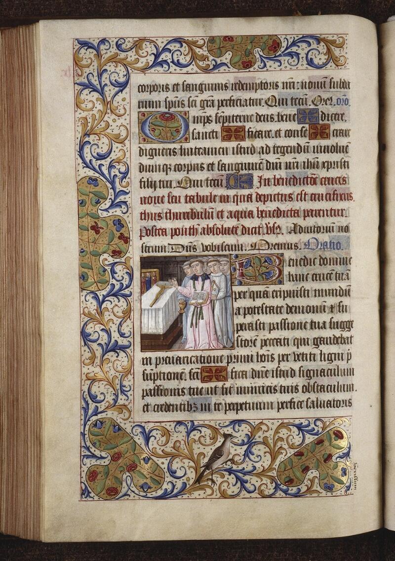 Lyon, Bibl. mun., ms. 0565, f. 164v - vue 1