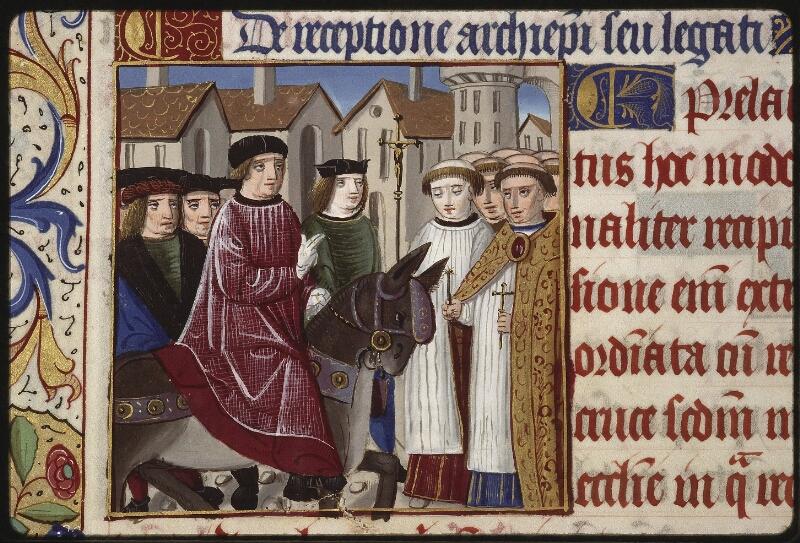 Lyon, Bibl. mun., ms. 0565, f. 207v - vue 1