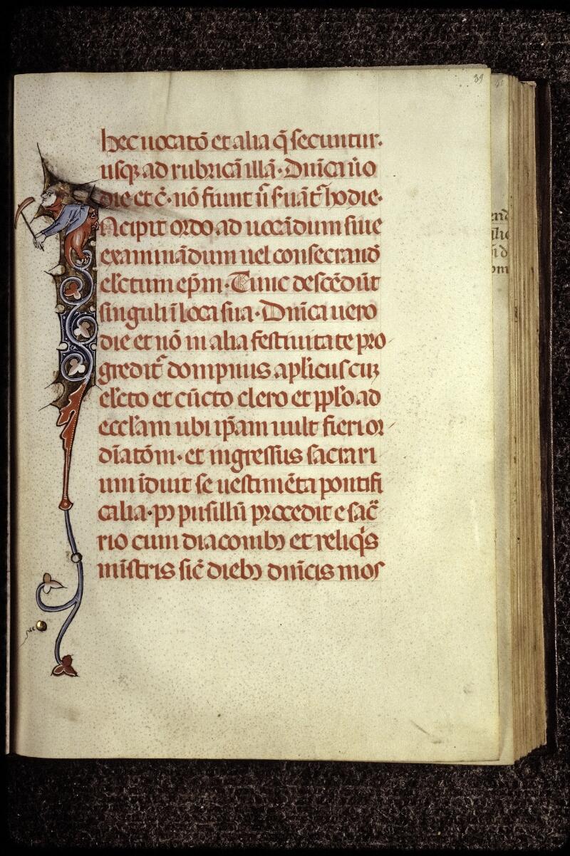Lyon, Bibl. mun., ms. 0566, f. 039 - vue 1