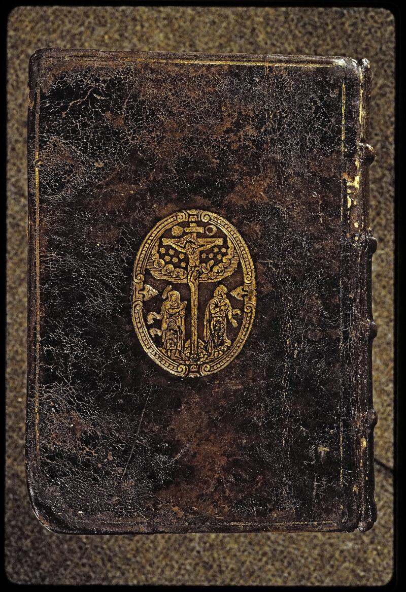 Lyon, Bibl. mun., ms. 0567, reliure plat inf.