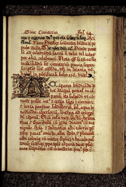Lyon, Bibl. mun., ms. 0567, f. 070 - vue 1