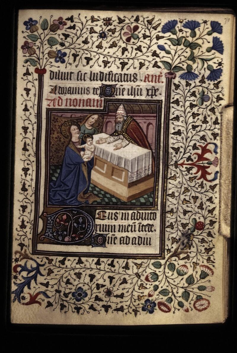 Lyon, Bibl. mun., ms. 0573, f. 070 - vue 1