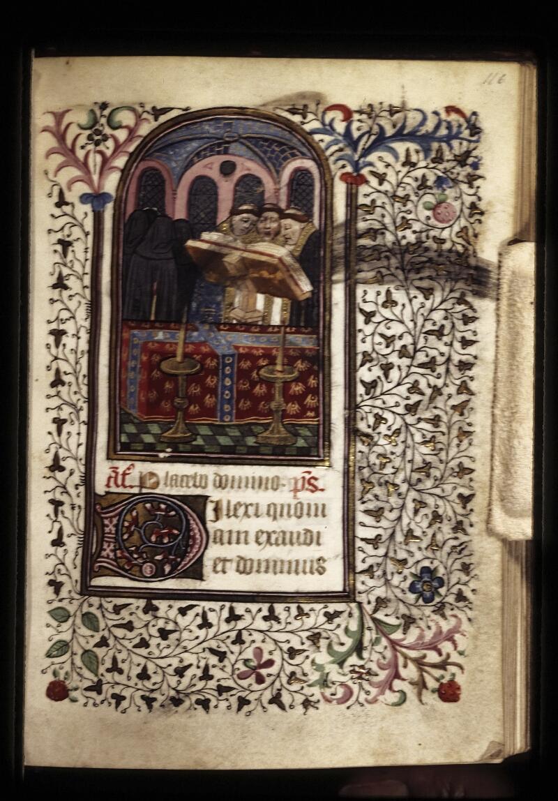 Lyon, Bibl. mun., ms. 0573, f. 116 - vue 1