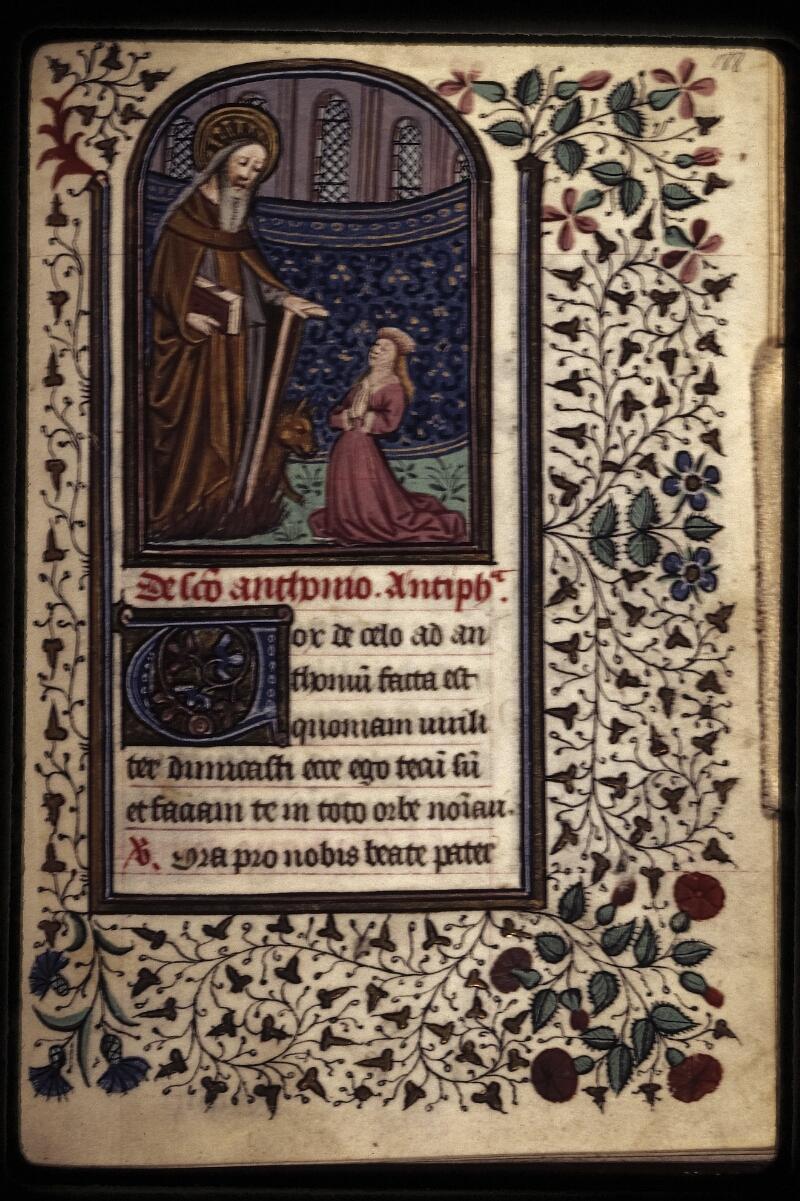Lyon, Bibl. mun., ms. 0573, f. 188 - vue 1