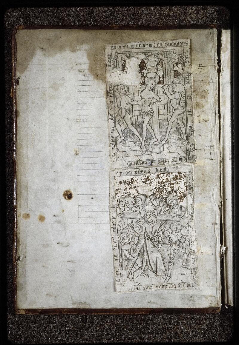Lyon, Bibl. mun., ms. 0574, contre-plat sup. - vue 1