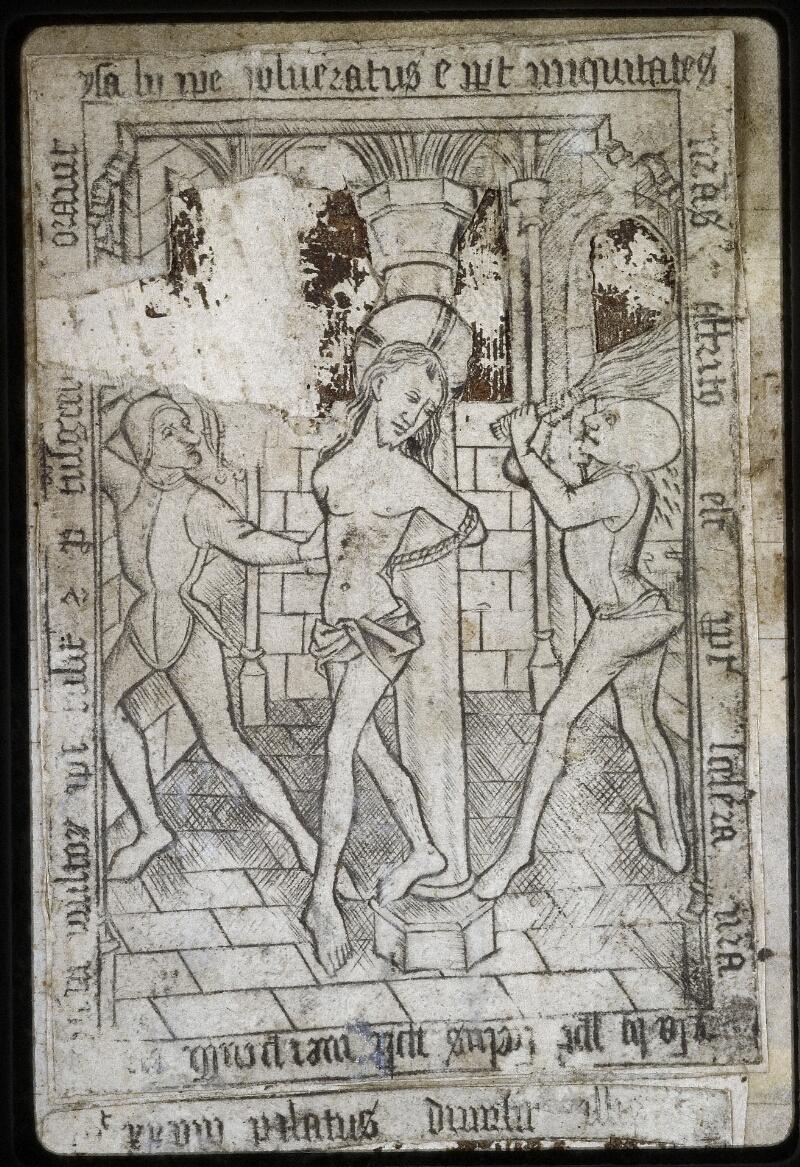Lyon, Bibl. mun., ms. 0574, contre-plat sup. - vue 2