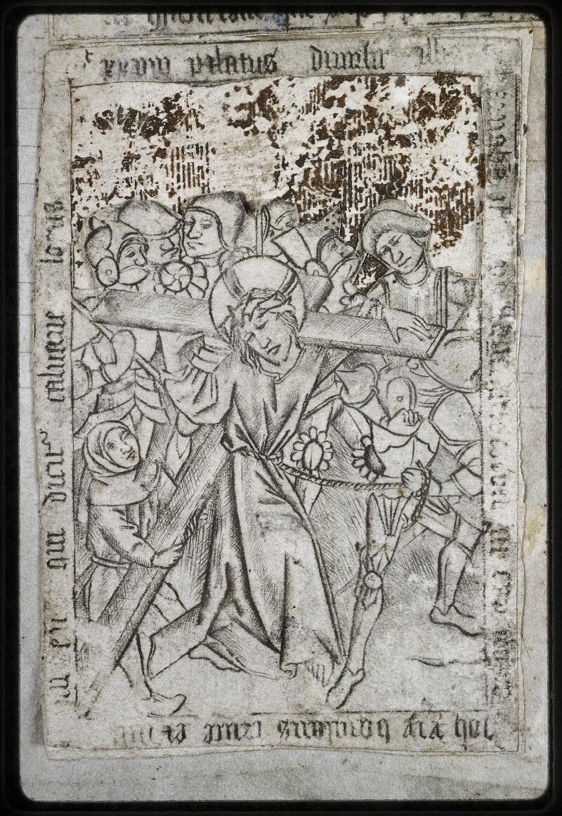 Lyon, Bibl. mun., ms. 0574, contre-plat sup. - vue 3