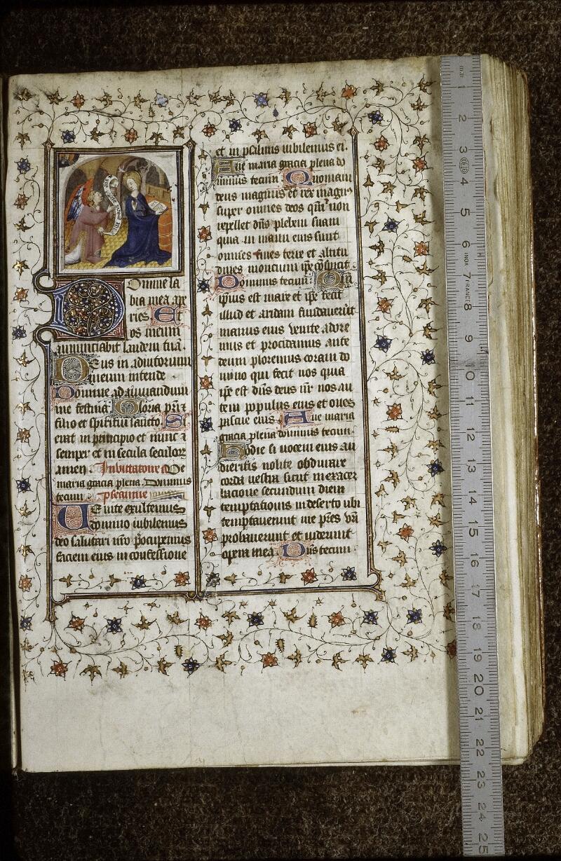 Lyon, Bibl. mun., ms. 0574, f. 009 - vue 1
