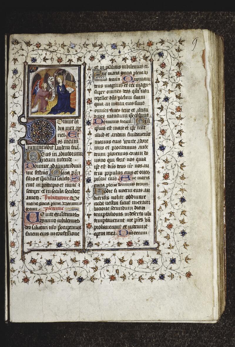 Lyon, Bibl. mun., ms. 0574, f. 009 - vue 2