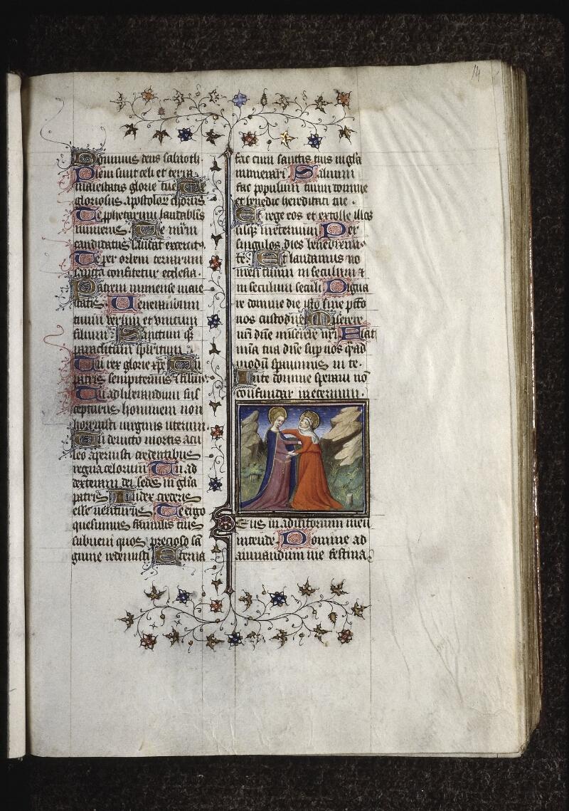 Lyon, Bibl. mun., ms. 0574, f. 014 - vue 1