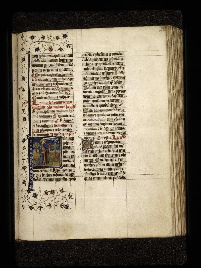 Lyon, Bibl. mun., ms. 0574, f. 101 - vue 1