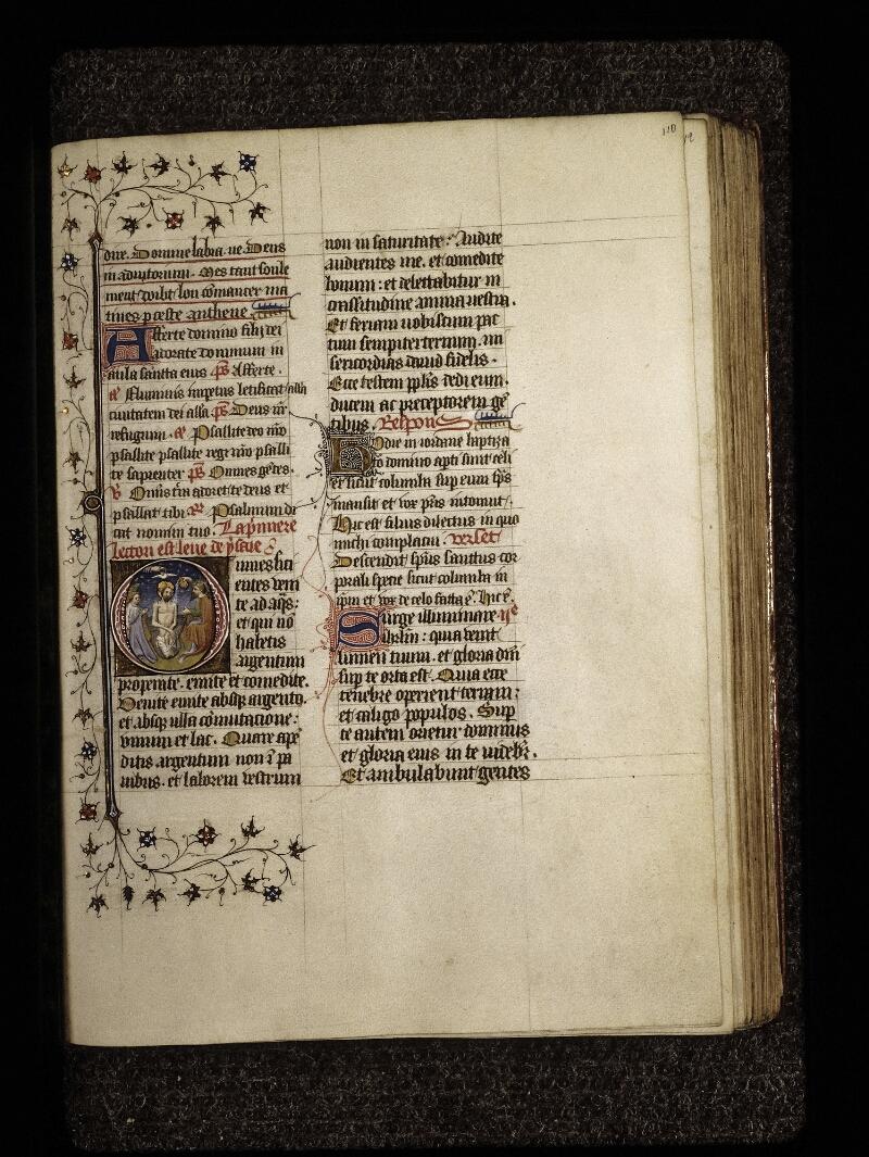 Lyon, Bibl. mun., ms. 0574, f. 110 - vue 1