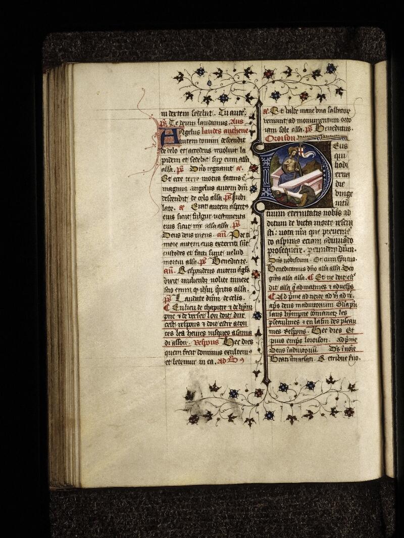 Lyon, Bibl. mun., ms. 0574, f. 121v - vue 1