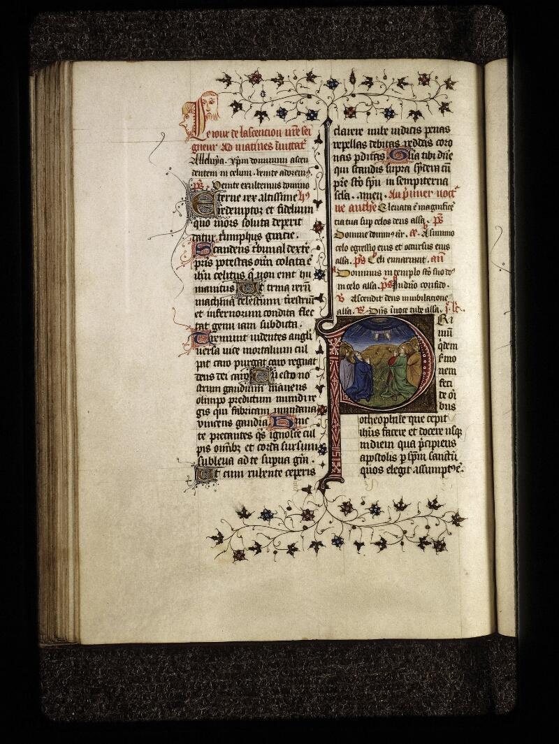 Lyon, Bibl. mun., ms. 0574, f. 124v - vue 1