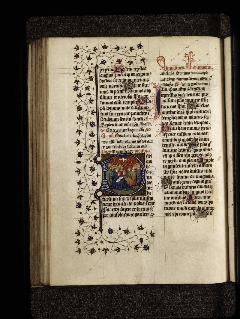 Lyon, Bibl. mun., ms. 0574, f. 127v - vue 1