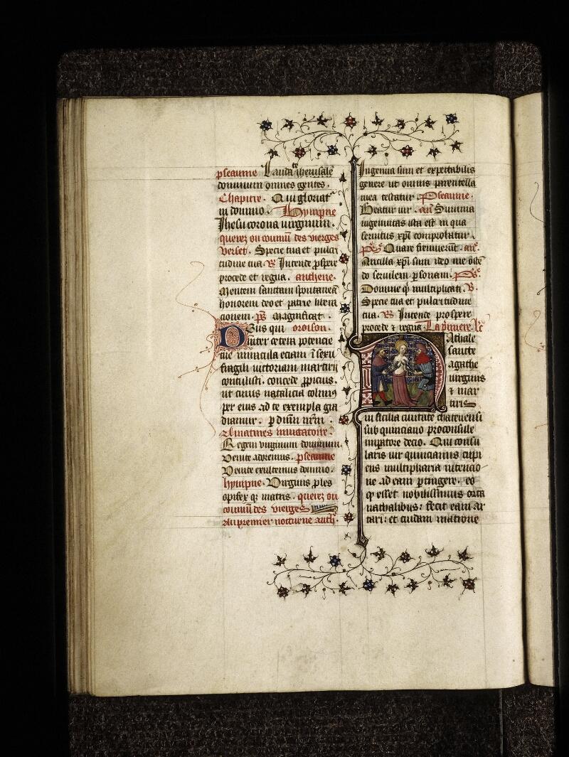 Lyon, Bibl. mun., ms. 0574, f. 161v - vue 1