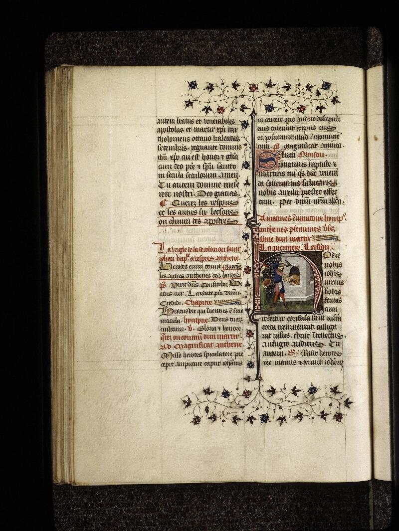 Lyon, Bibl. mun., ms. 0574, f. 192v - vue 1