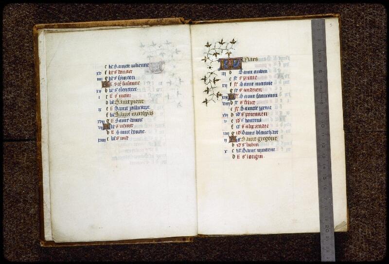 Lyon, Bibl. mun., ms. 0575, f. 002v-003 - vue 1