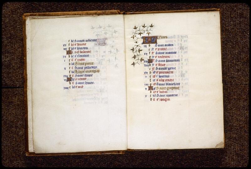 Lyon, Bibl. mun., ms. 0575, f. 002v-003 - vue 2
