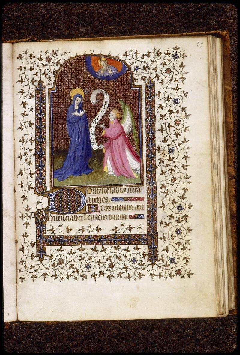 Lyon, Bibl. mun., ms. 0575, f. 025 - vue 1